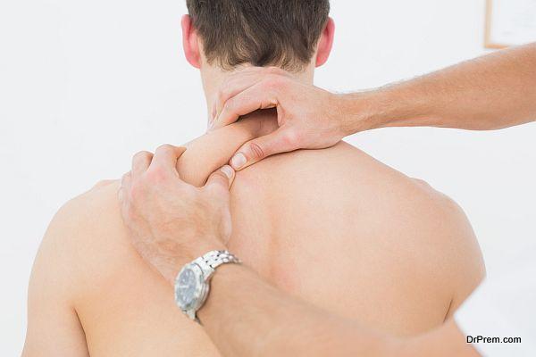 massage him