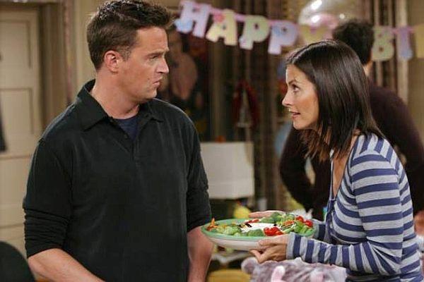 Monika and Chandler