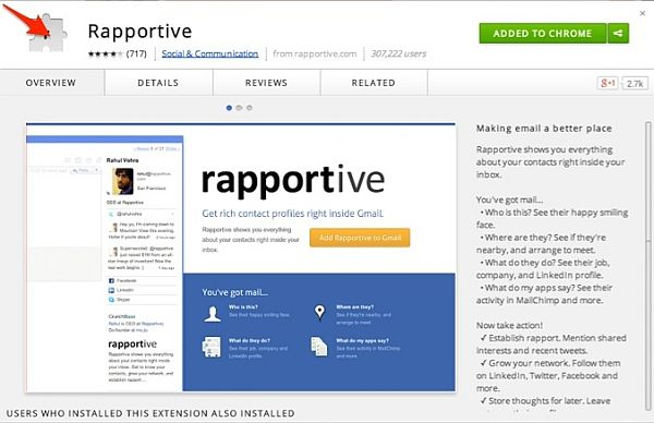Rapportive is a genius