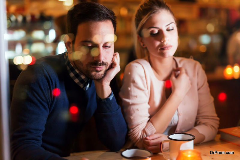 Forget about spoiling your partner's mood