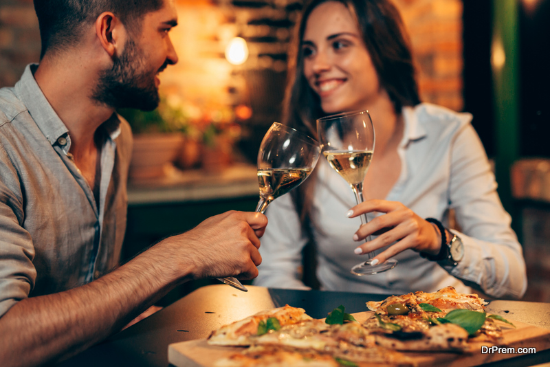 couple on affordable date